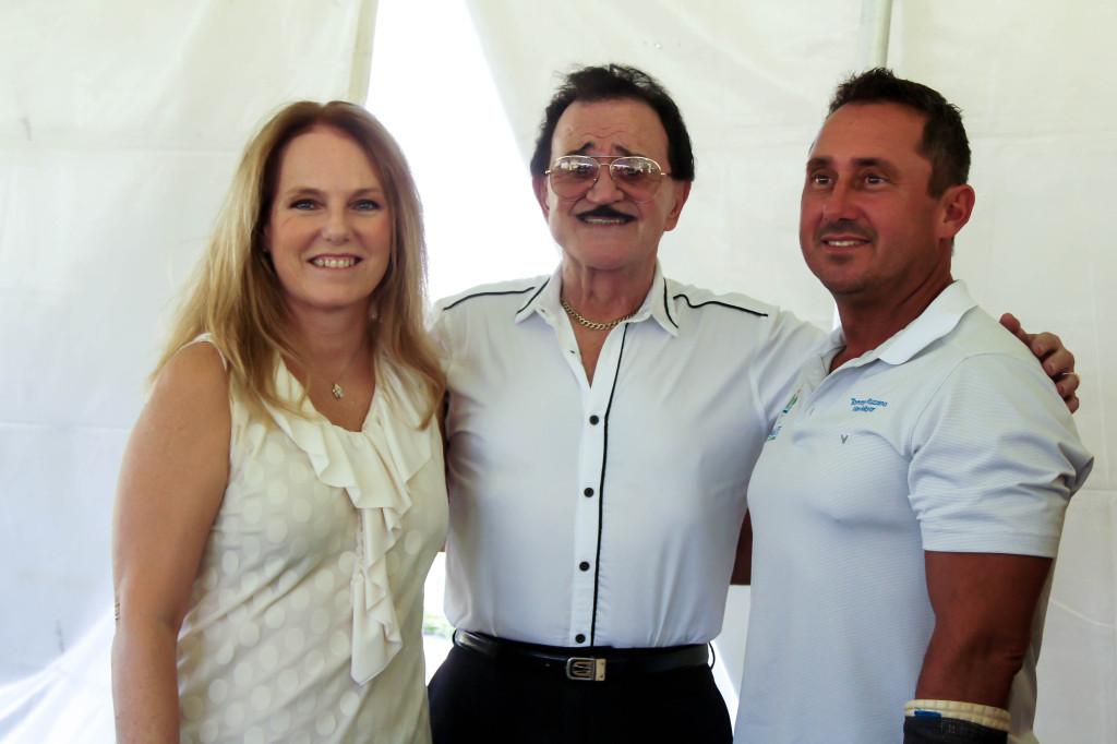 Danette Thompson, Tony Finno and Vice Mayor Tommy Ruzzano